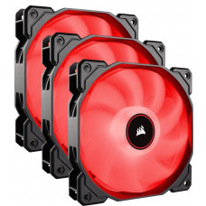 CORSAIR Fläkt AF120 LED Röd 3-pack 120mm