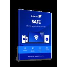 F-Secure Safe Internetsäkerhet 1 År 1 Enhet