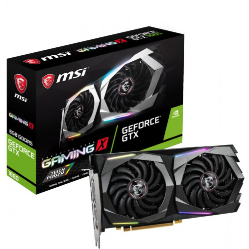 MSI NVIDIA GeForce GTX 1660 GAMING X 6GB