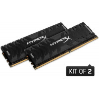 Kingston HyperX Predator Black DDR4 2400MHz CL12 16GB (2x8)