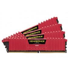 Corsair Vengeance LPX DDR4 3000Mhz CL15 Röd 16GB (4x4)