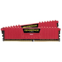 Corsair Vengeance LPX DDR4 2133MHz CL13 Röd 8GB (2x4)