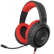 Corsair Gaming HS35 Stereo Röd