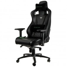 noblechairs EPIC Series Faux Leather Svart/Grön