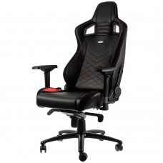 noblechairs EPIC Series Faux Leather Svart/Röd