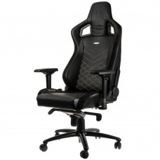 noblechairs EPIC Series Faux Leather Svart/Guld