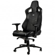 noblechairs EPIC Series Real Leather Svart