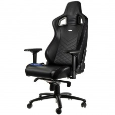 noblechairs EPIC Series Faux Leather Svart/Blå